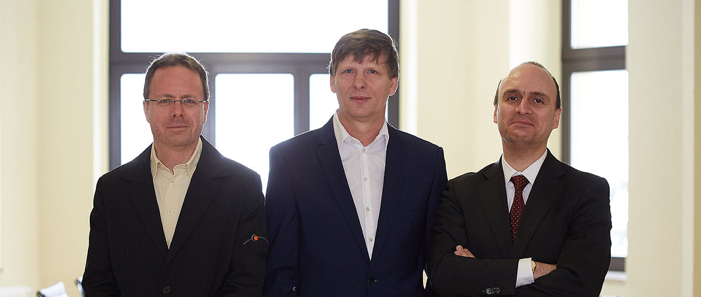 Janko Nebel, Uwe Bauch, Lavinio Cerquetti, Board of Directors - community4you AG